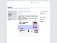 uzhcard.uzh.ch Webseite Vorschau