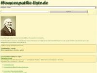 homoeopathie-liste.de