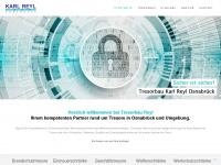 tresorbau-reyl.de Webseite Vorschau