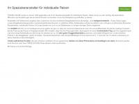travel-house.de Webseite Vorschau