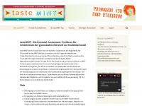 tastemint.de Webseite Vorschau