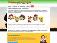 kindermusicals.tv Webseite Vorschau
