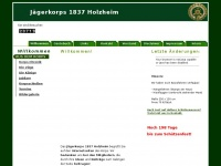 jaegerkorps-holzheim.de