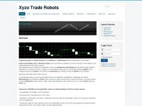 xyzo-trade-robots.de Webseite Vorschau
