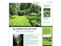 blumenthaler-hof.eu