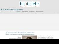 physio-lehr.de Webseite Vorschau