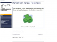 dampfbahn-aaretal.ch