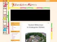 kindergarten-roethlein.de Webseite Vorschau