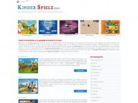 kinder-spiele.info Webseite Vorschau