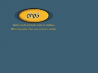 phpschmiede.de Webseite Vorschau