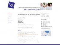 wannsee-internisten.de Webseite Vorschau