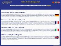 citytours-bulgaria.com Webseite Vorschau
