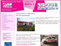 autogasumbau pink tank hamburg autogasumbau. Black Bedroom Furniture Sets. Home Design Ideas