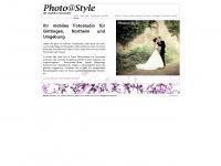 photoatstyle.de Webseite Vorschau