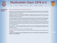 kirmes.mv-daun.de Webseite Vorschau