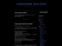 lonesomewalker.com Webseite Vorschau