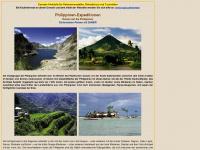 philippinen-expeditionen.de Webseite Vorschau