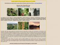 amazonien-expeditionen.de Webseite Vorschau