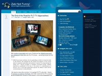 zatznotfunny.com Webseite Vorschau