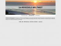 1a-reiseziele.de Webseite Vorschau