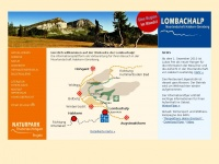 lombachalp.ch Webseite Vorschau