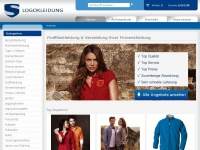 logokleidung.de Webseite Vorschau