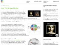 4augen-modell.com Webseite Vorschau
