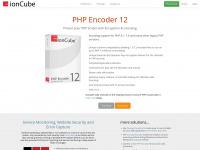 ioncube.com Webseite Vorschau