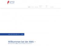 ama-ev.de Webseite Vorschau