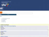 kvhs-kaiserslautern.de Webseite Vorschau