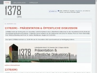 1378km.de Webseite Vorschau