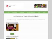 kinderbetreuungmainz.de Webseite Vorschau