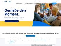 paypal.com Webseite Vorschau