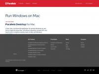 parallels.com Webseite Vorschau