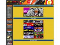 minigames.de Webseite Vorschau