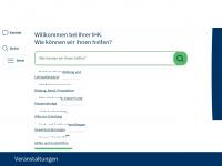 frankfurt-main.ihk.de Webseite Vorschau