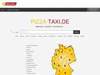 pizza-taxi.de Webseite Vorschau