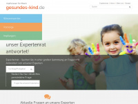 gesundes-kind.de Webseite Vorschau