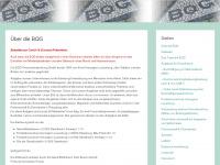 bqg-personalentwicklung.de Webseite Vorschau