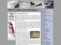 inpux.de Webseite Vorschau