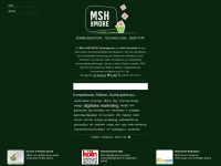 msh.net Webseite Vorschau