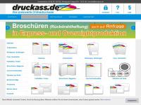 druckass.de Webseite Vorschau