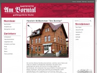 am-borntal.de Webseite Vorschau