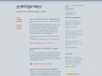 inkognito.ch Webseite Vorschau