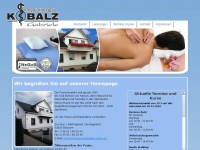 physiotherapie-kobalz.de Webseite Vorschau