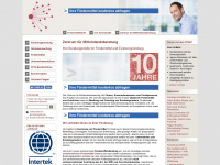 zuschuesse.de Webseite Vorschau