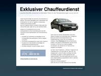 chauffeur-in-muenster.de Webseite Vorschau