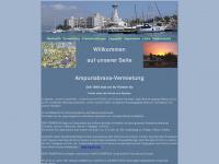 ampuriabrava-vermietung.de Webseite Vorschau