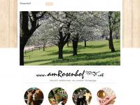 amrosenhof.at Webseite Vorschau