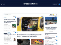 brisbanetimes.com.au Webseite Vorschau